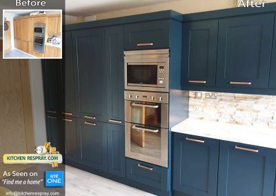 Kitchen Respray Stiffkey blue