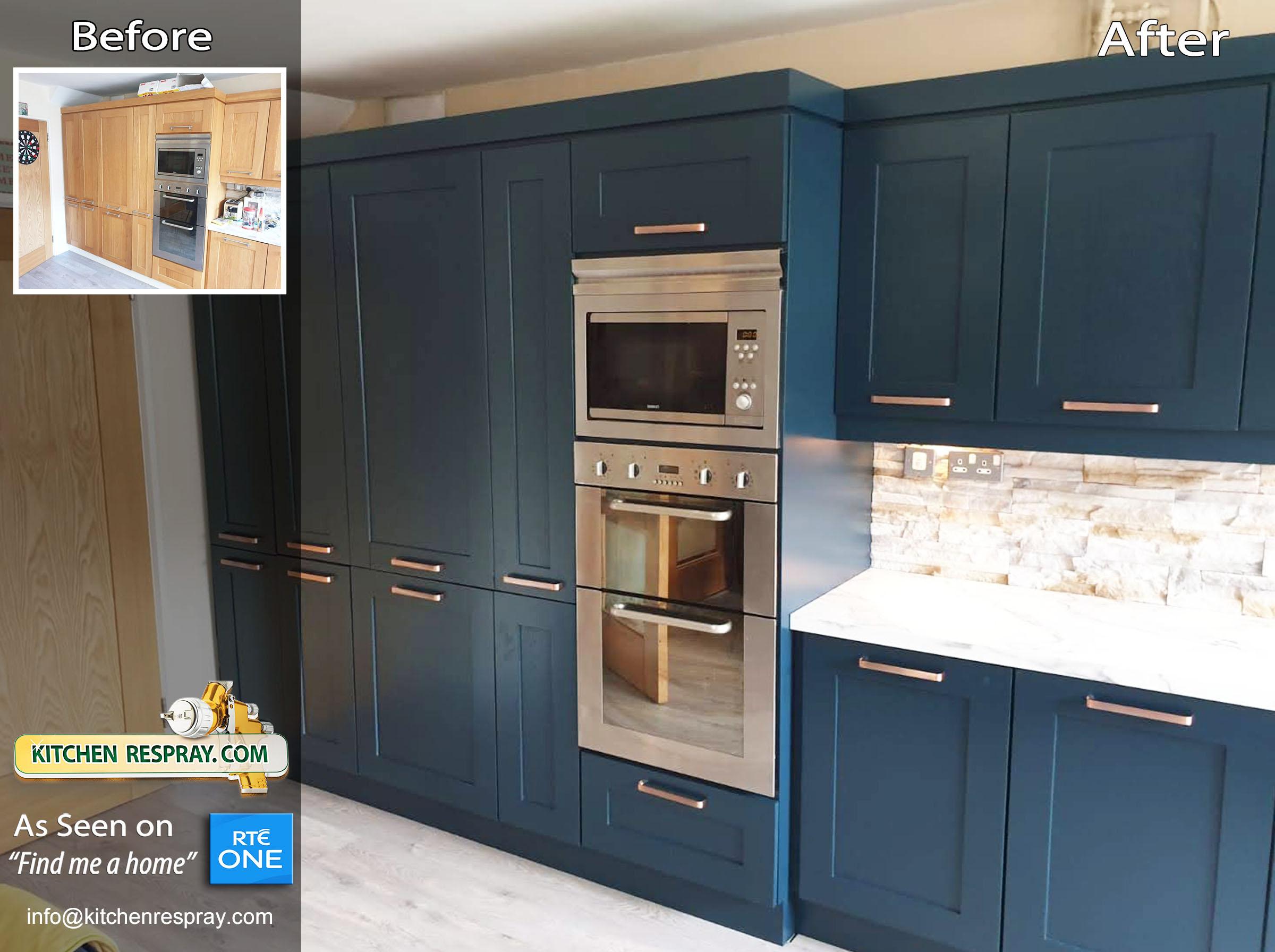 Kitchen Respray Stiffkey blue