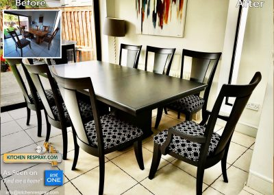 Furniture Respray Table and chairs