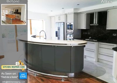 Kitchen Respray Island