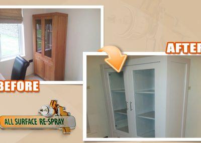 Respray Painting Dresser