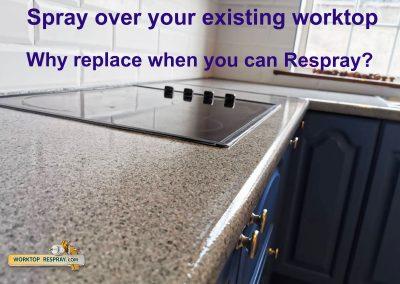 Worktop resurfacing Ireland