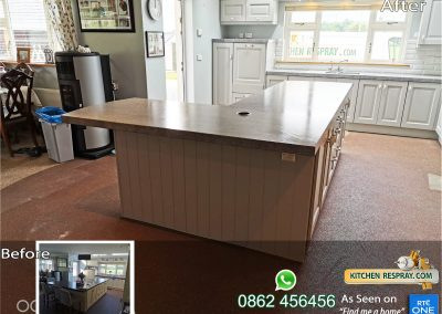 KR Pavillion grey worktop Castlerock