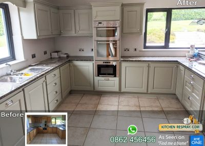 Kitchen Respray French Grey
