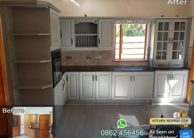 Kitchen Respray Manor House Grey