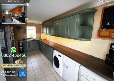 Kitchen Respray RAL 7033