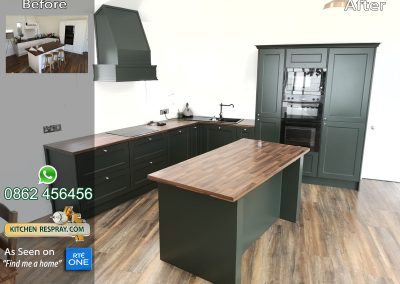 Kitchen Respray Studio Green