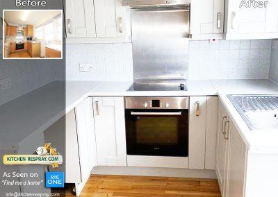 Kitchen Respray and worktop respray
