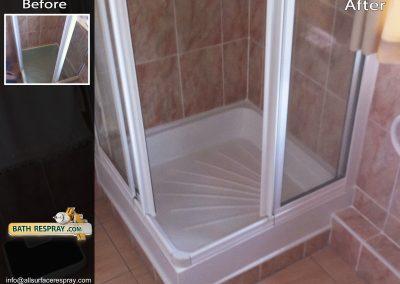 Shower tray Respray