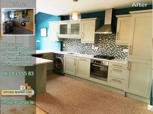 Kitchen Respray, Blue Gray