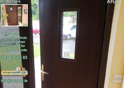 Kitchen Respray,door respray,PVC Broun
