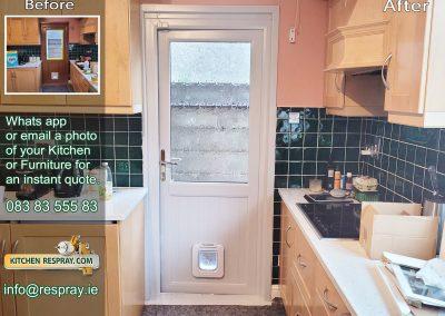 Kitchen Respray,door respray,PVC Respray Door